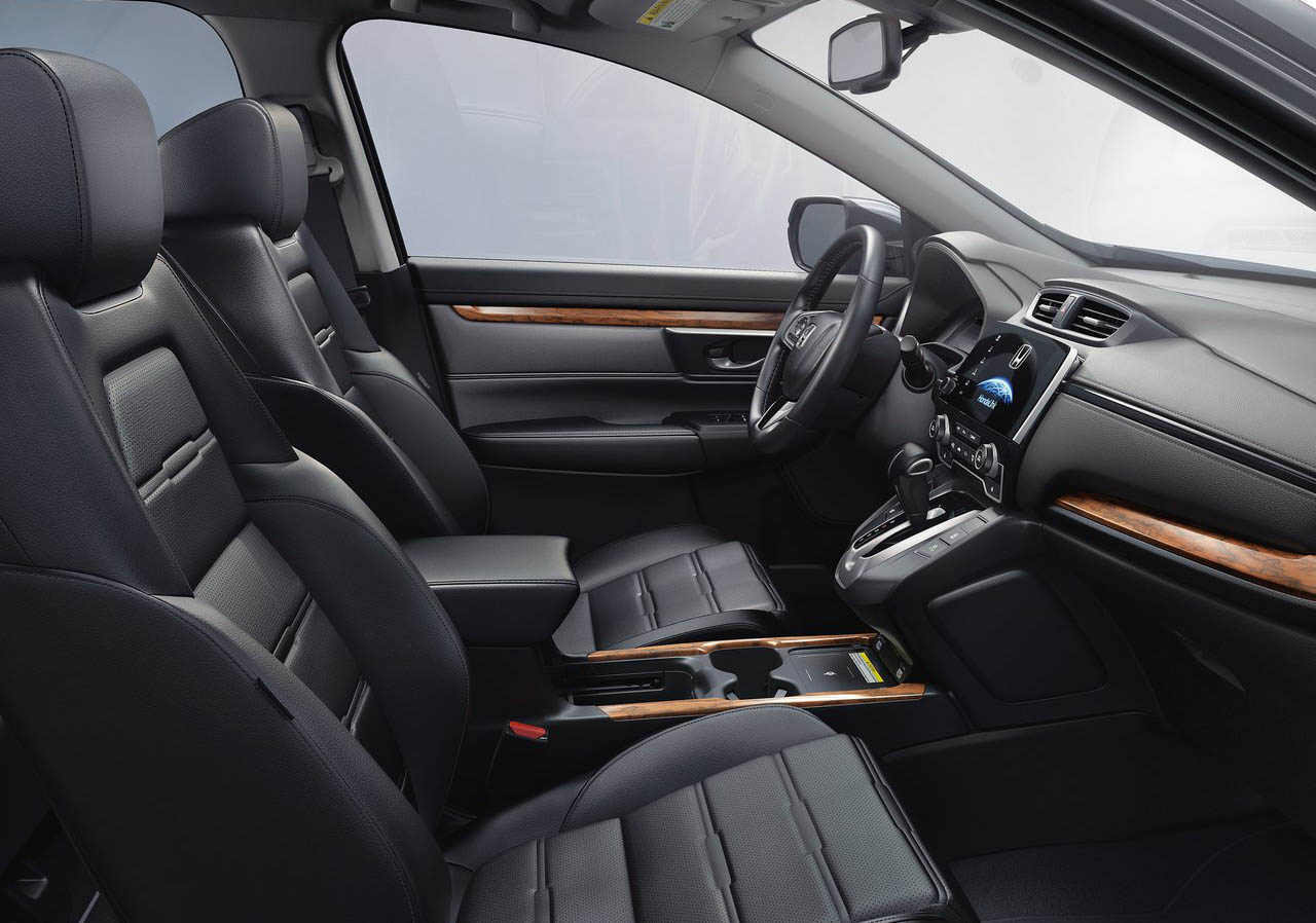 La Honda CR-V Touring 2020 resena opiniones agregó detalles a su interior