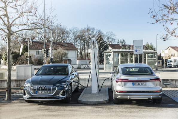 Audi hace inversión millonaria en infraestructura de recarga