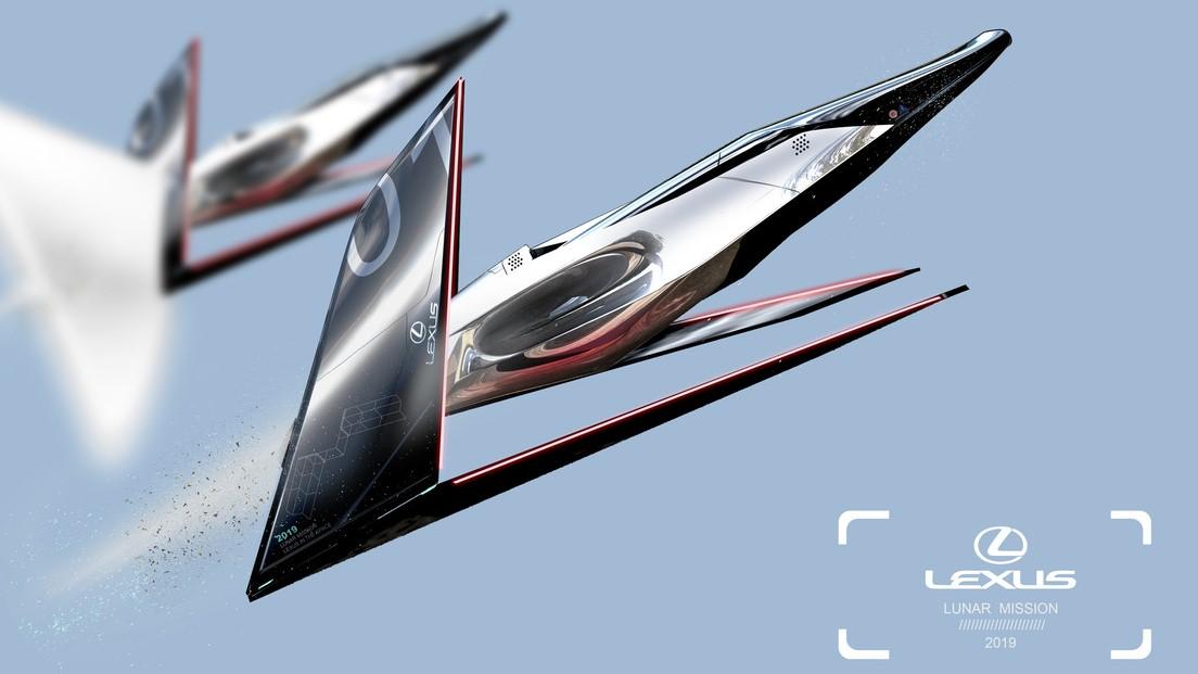 El Lexus Lunar Mission tiene todo el diseño de una nave espacial