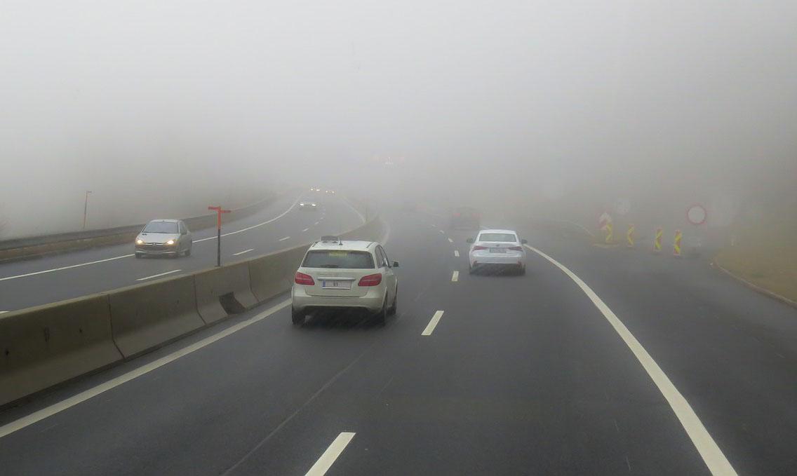 Las condiciones meteorológicas pueden afectar a los sensores