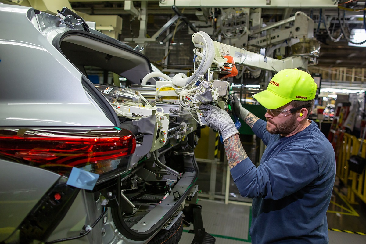 Toyota Indiana planta producción