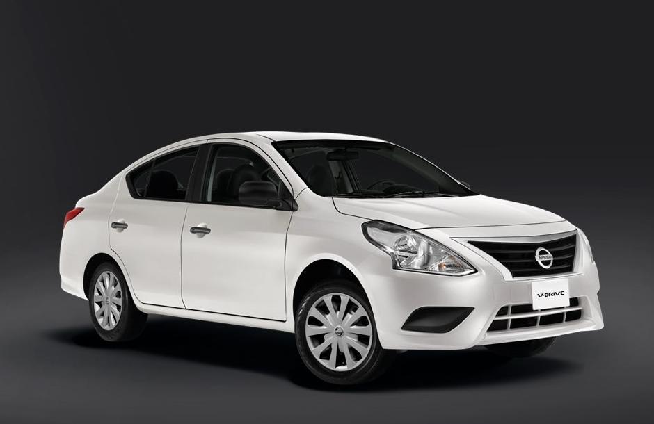 El Nissan V-Drive es un Versa de generación anterior