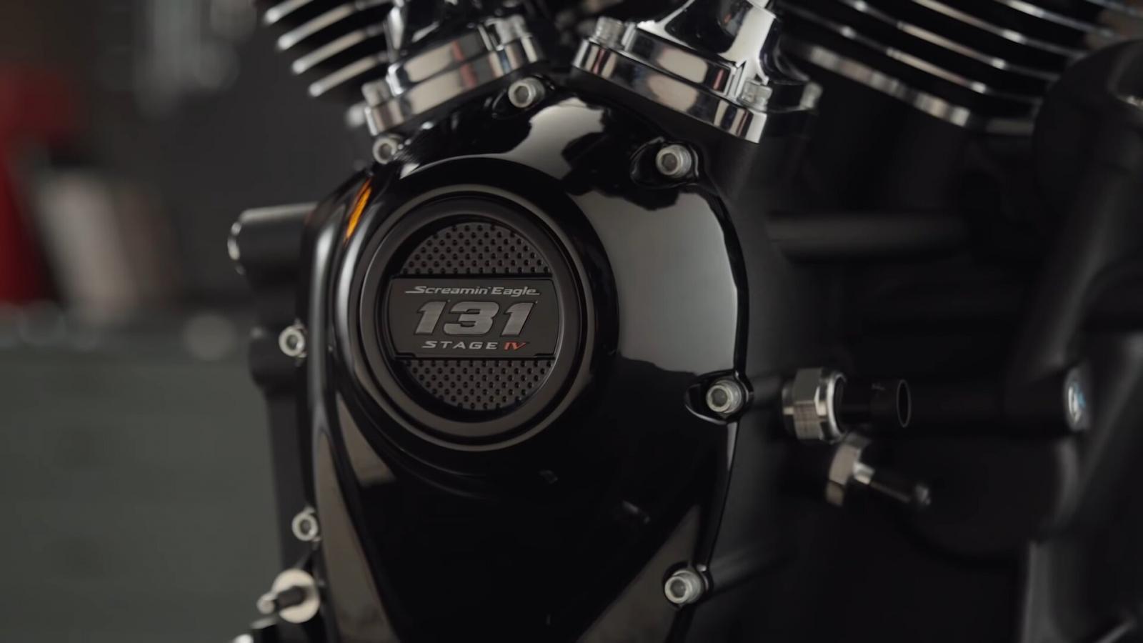 Este motor solo estará disponible para los modelos de la familia touring lanzados a partir del año 2017