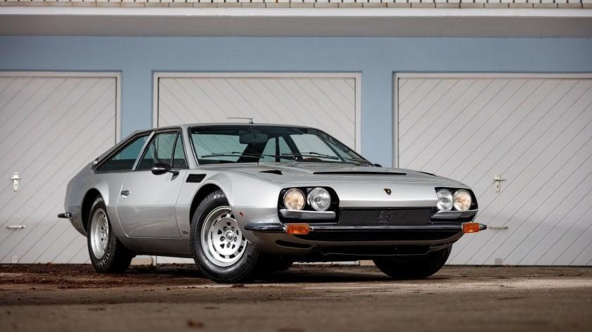 El Lamborghini Jarama es un modelo del que se fabricaron muy pocas unidades en la década de los 70