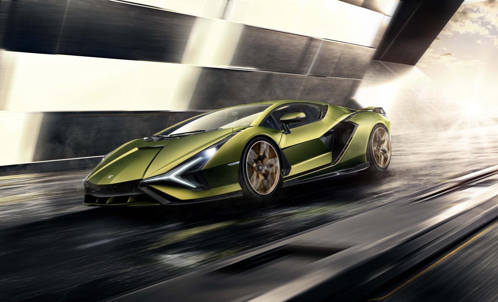 Lamborghini tendrá gama eléctrica hasta el 2030