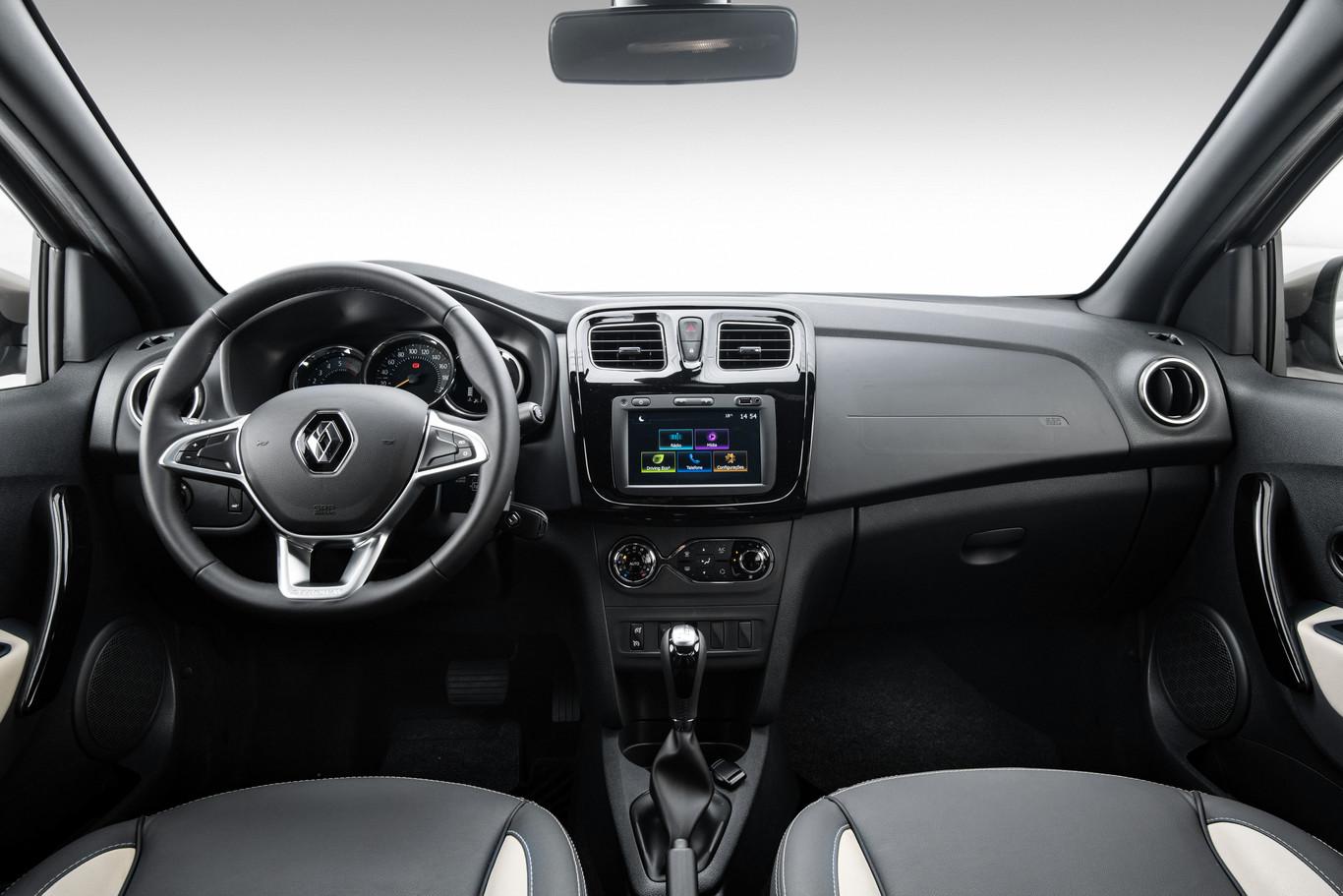 La Renault Stepway Intens CVT 2020 resena opiniones tiene un nuevo diseño de volante
