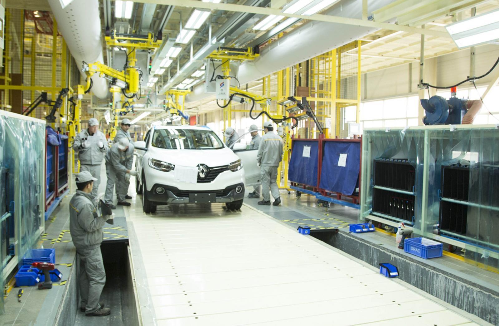 La producción de autos en China se ha visto afectada