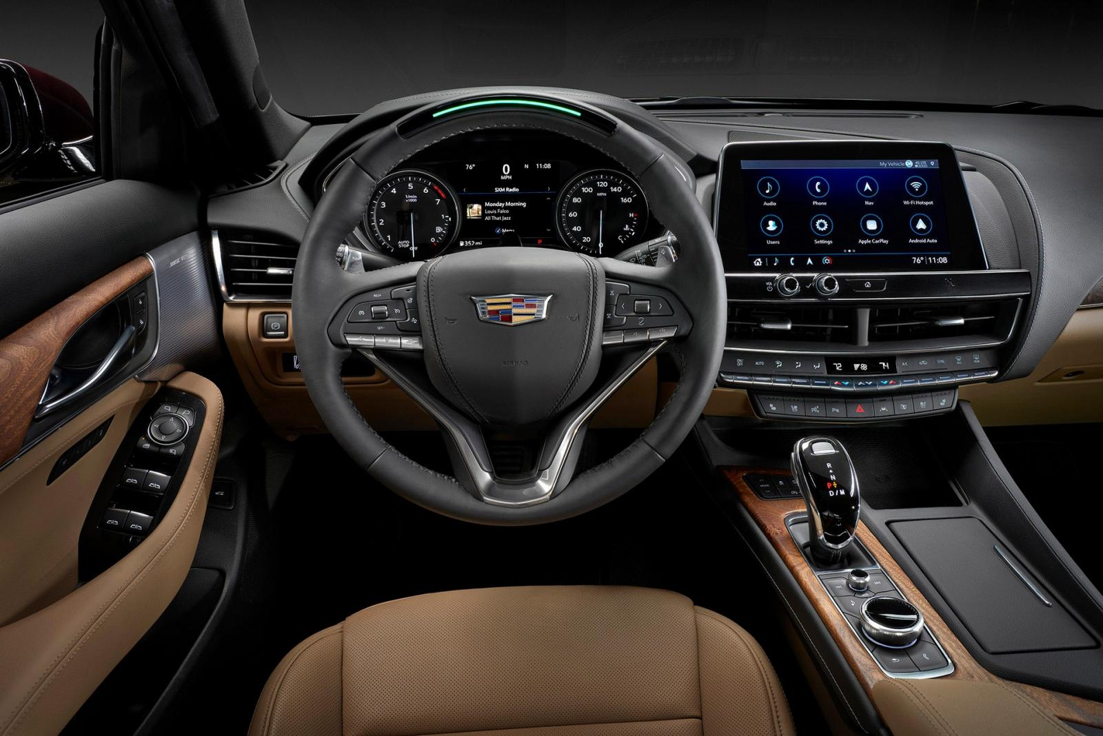 Cadillac CT5 interior