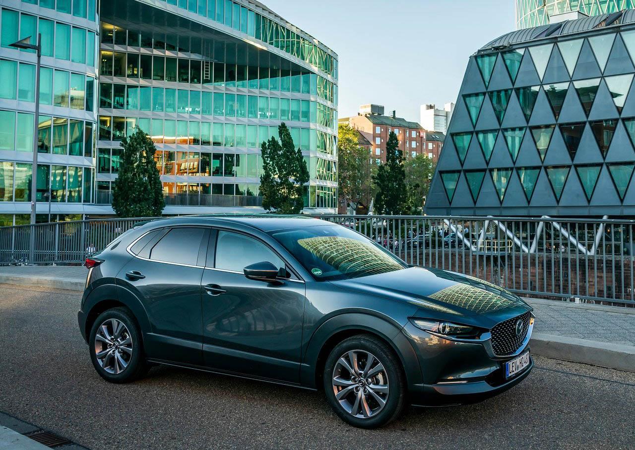 La Mazda CX-30 i Grand Touring 2020 resena opiniones tiene una imagen deportiva