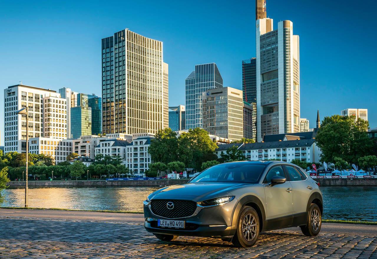 La Mazda CX-30 i Grand Touring 2020 resena opiniones tiene modo de manejo deportivo