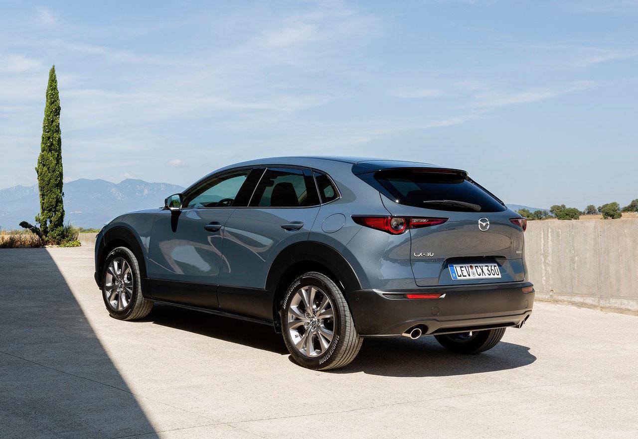 La Mazda CX-30 i Grand Touring 2020 resena opiniones tiene un buen tamaño