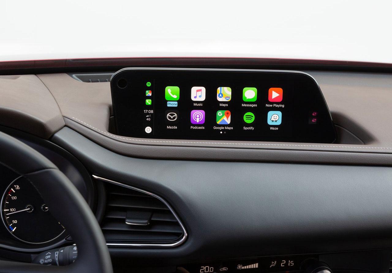 La Mazda CX-30 i Grand Touring 2020 resena opiniones tiene pantalla táctil