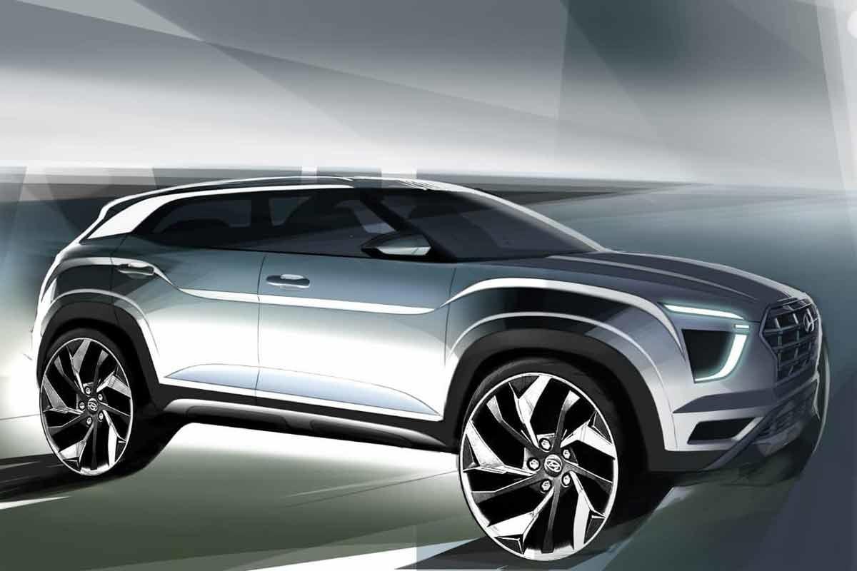 Hyundai adelantó teasers de la Creta 2021