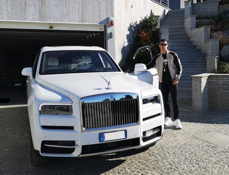 Cristiano Ronaldo recibió una Mercedes-Benz AMG G63 por su cumpleaños