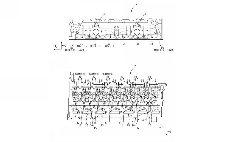 Mazda registró las tecnologías en la Oficina de Patentes de Japón