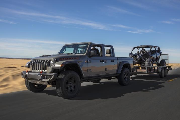[Auto Show de Chicago]  Jeep presentó la Gladiator Mojave 2020