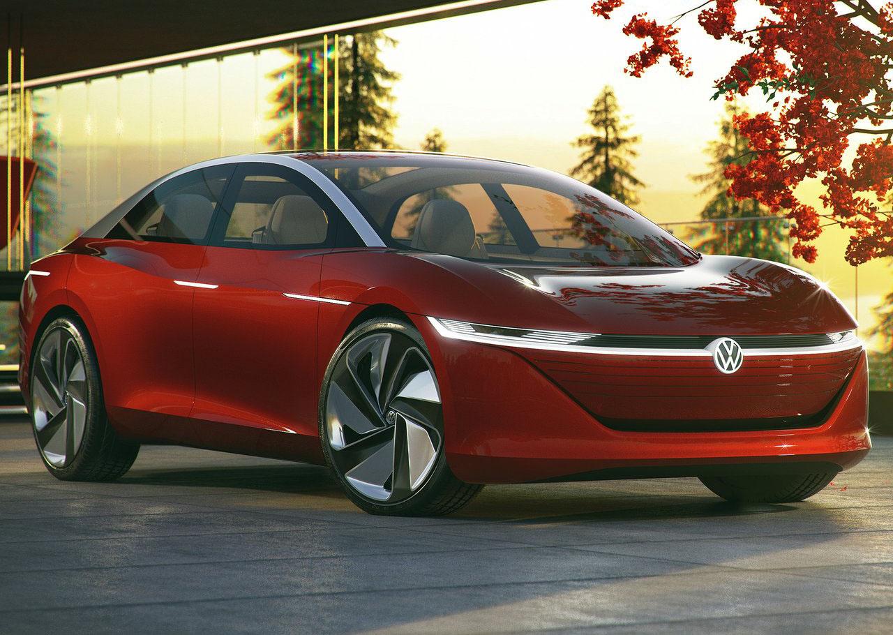 El Volkswagen ID Vizzion Concept vio la luz en Ginebra
