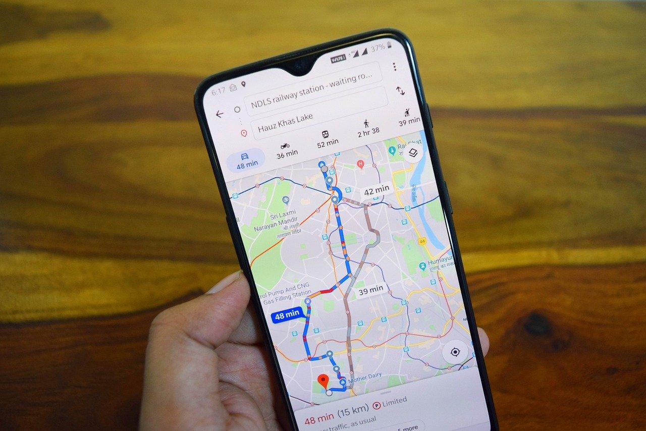 Google Maps activa el modo moto en México
