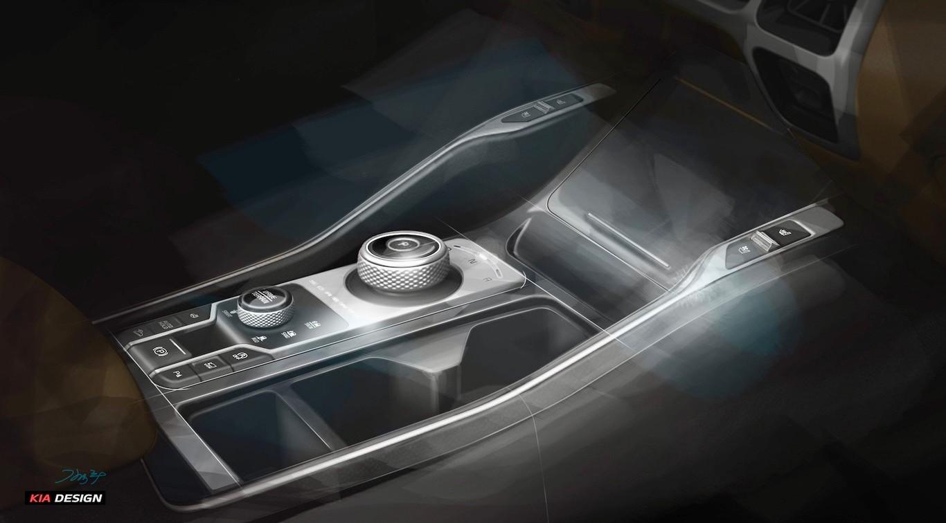 La Kia Sorento 2021 tendrá un interior muy moderno