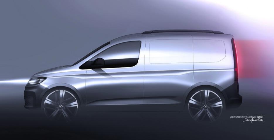 La Volkswagen Caddy 2021 se presentará en algunas semanas