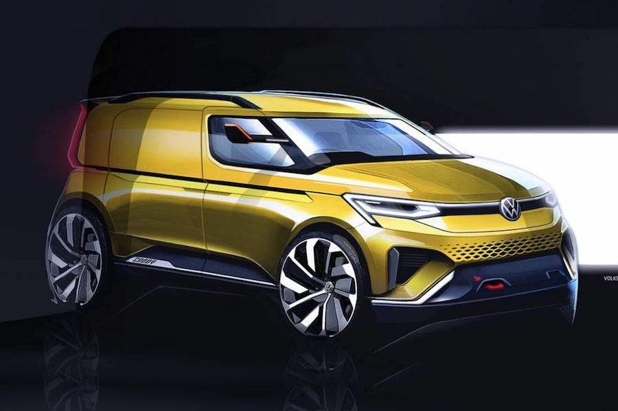 La Volkswagen Caddy 2021 se verá muy renovada