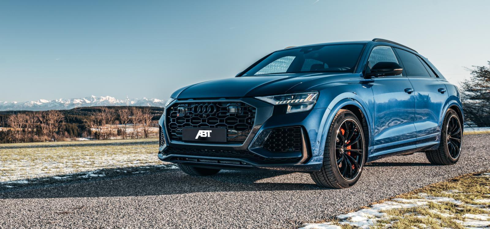 Abt Lleva A La Audi Rs Q8 Por Encima De Los 600 Caballos