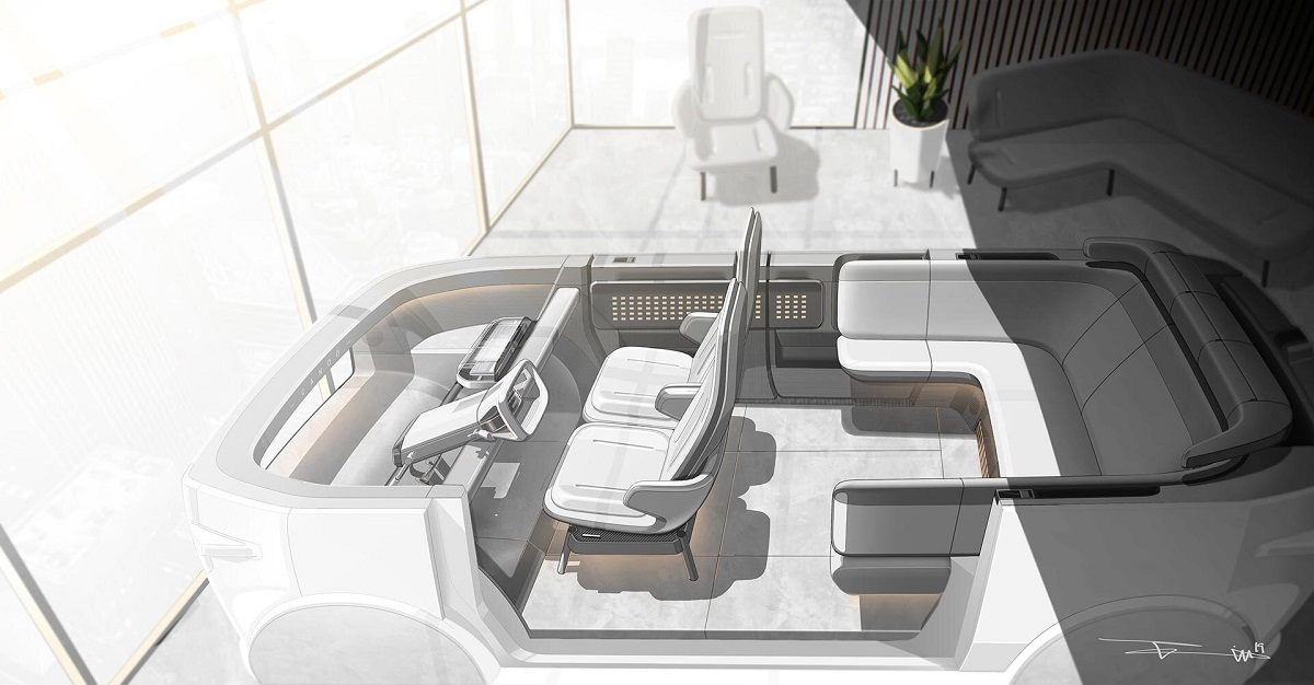 Canoo vehículo eléctrico diseño