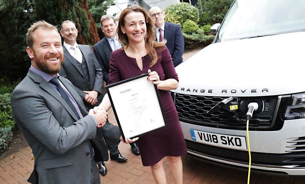 Jaguar Land Rover certificación cero emisiones