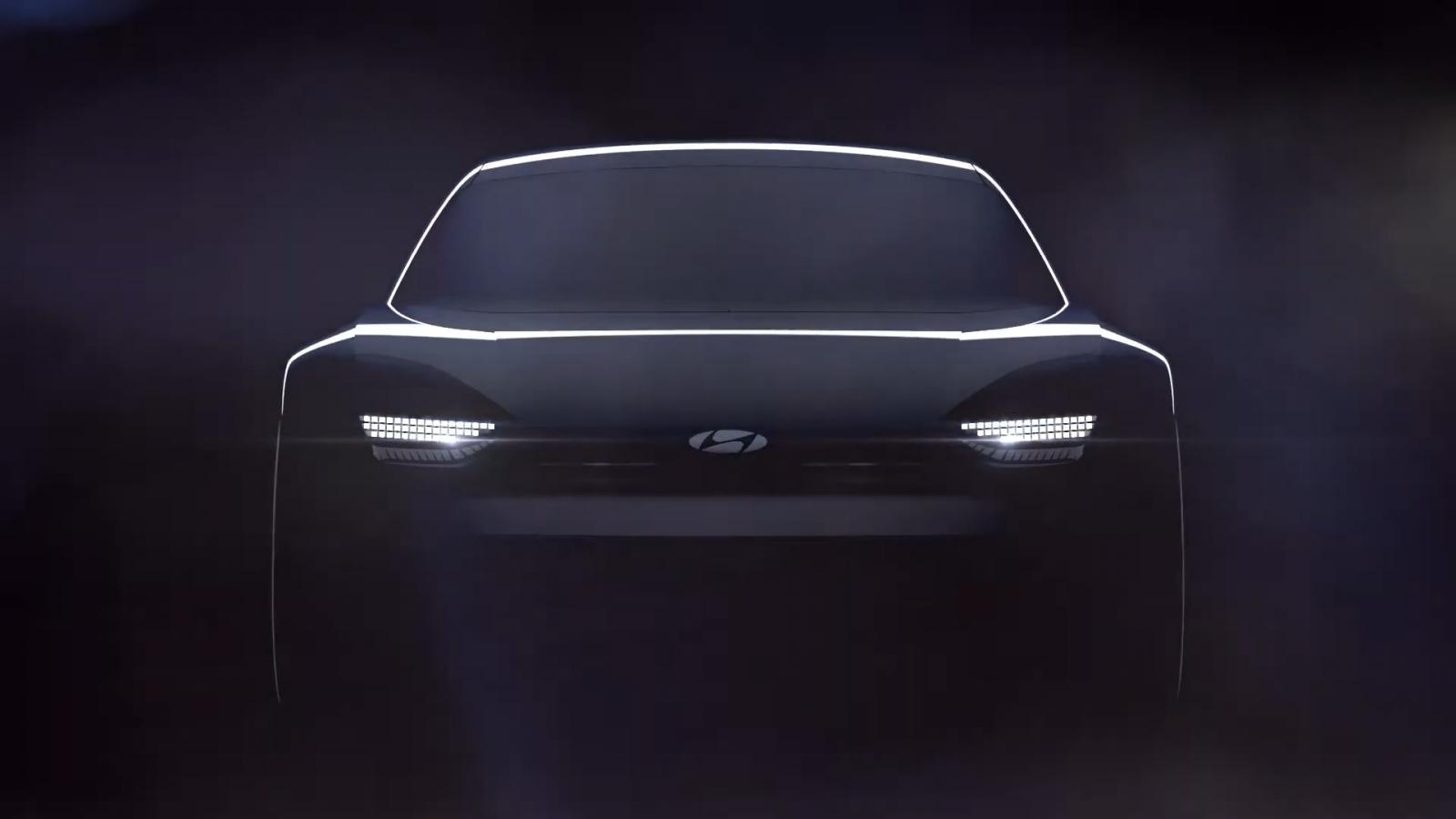 Hyundai advirtió que este concepto refleja las bases de su nuevo lenguaje estético