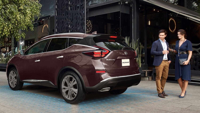 Nissan Murano Exclusive AWD 2020 resena opiniones En la parte trasera sobresale su spoiler de corte deportivo