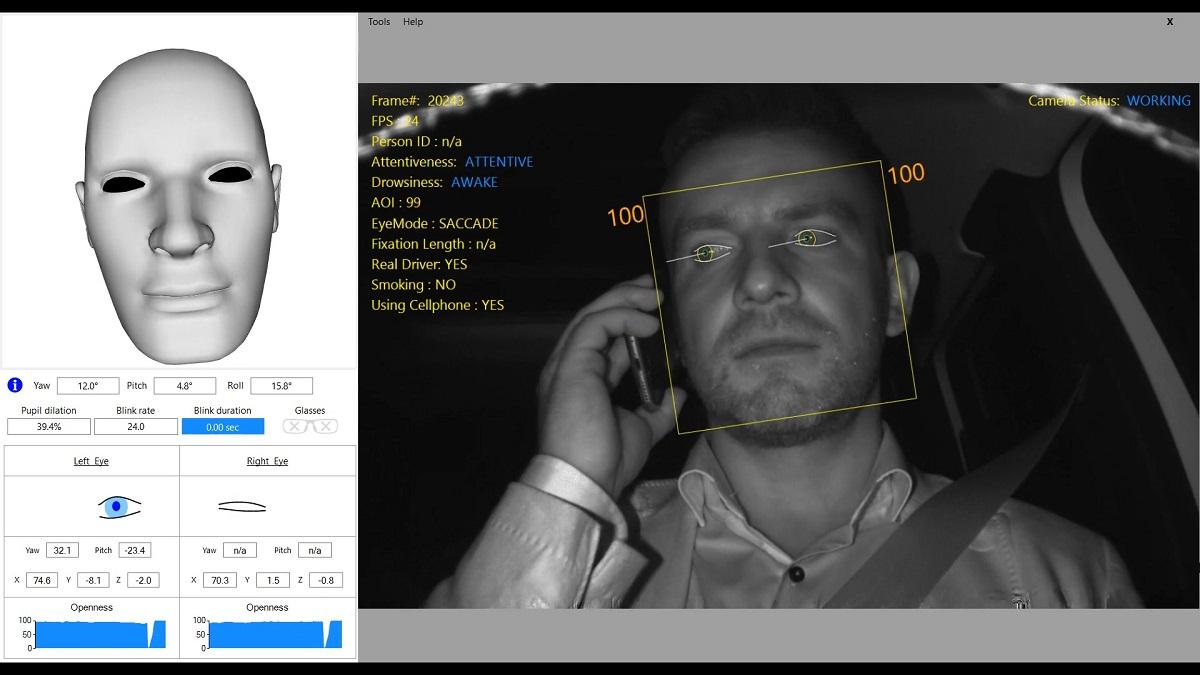 Sistema analisis gestos conductor SEAT