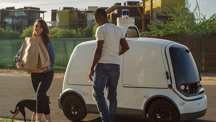 Nuro R2, el autónomo repartidor que ya tiene permiso para circular