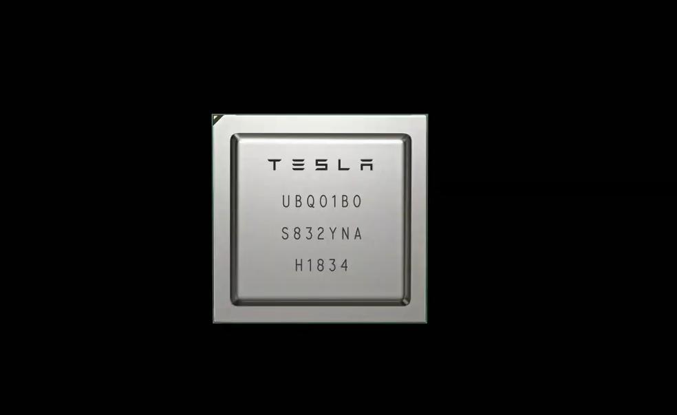Chip IA Tesla