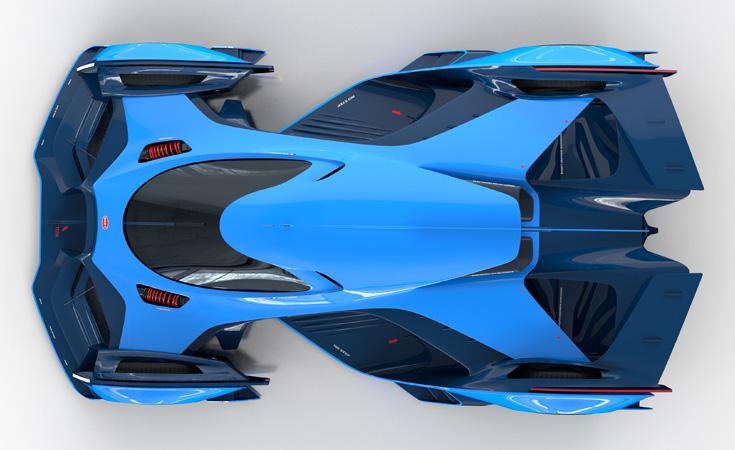 Bugatti Le Mans 3