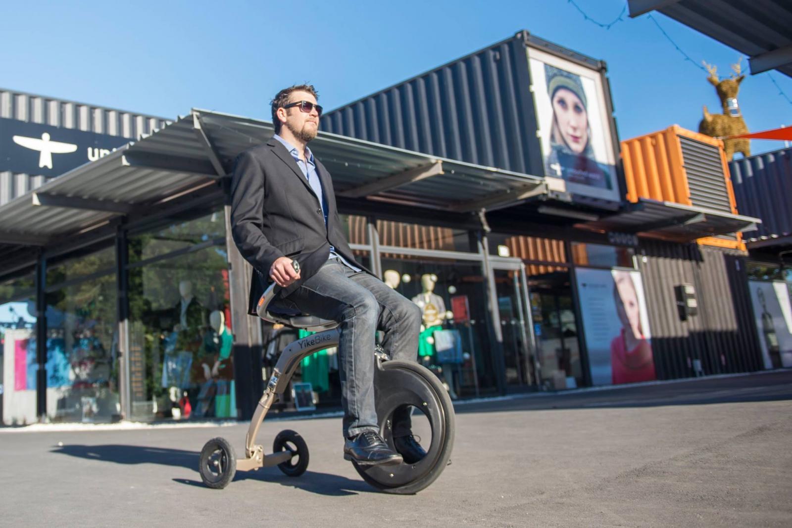 YikeBike, la bicicleta plegable que puedes llevar a todos lados