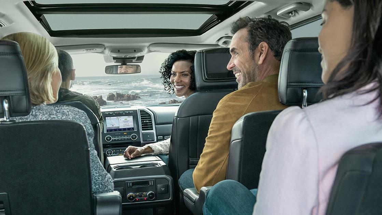 Ford Expedition Platinum 2020 resena opiniones Es la única versión con asientos forrados de piel premium
