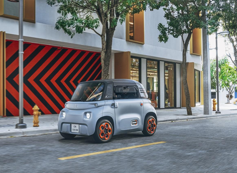 Citroën presentó la versión de producción del Ami