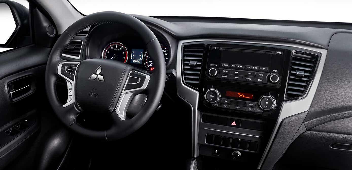 La Mitsubishi L200 GLX Diésel TM 2020 resena opiniones tiene un interior muy funcional