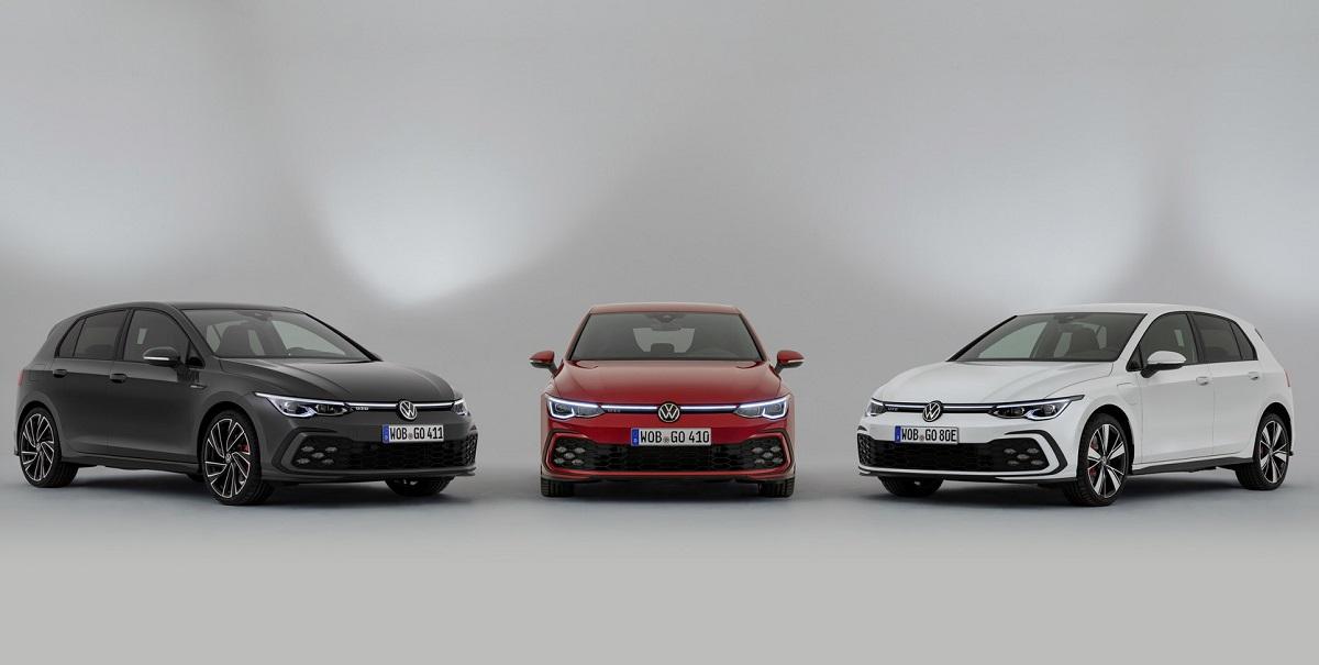 Volkswagen Golf GTD, GTI y GTE