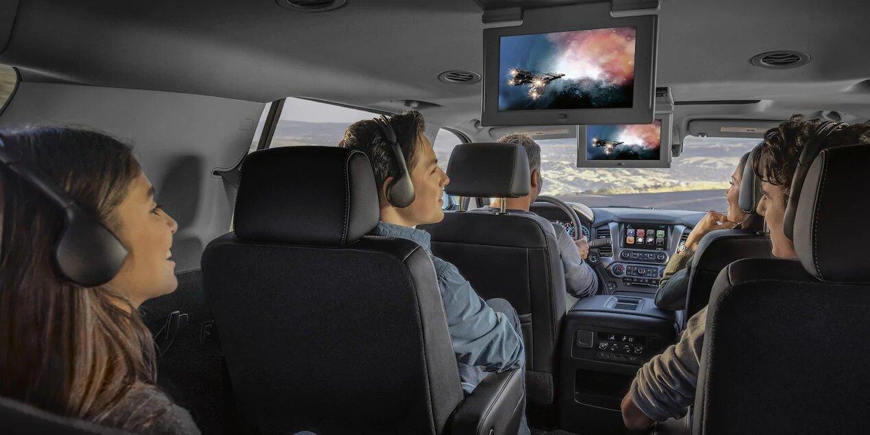 Chevrolet Tahoe Premier 2020 resena opiniones No se olvida del entretenimiento para los pasajeros y acompañantes