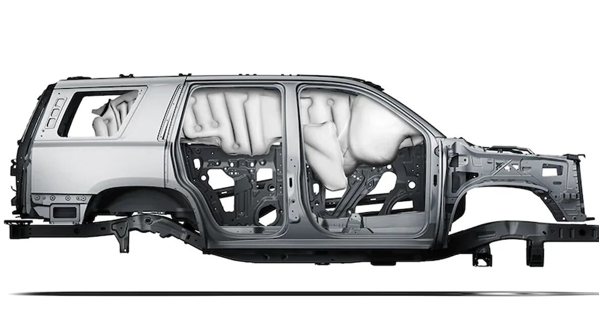 Chevrolet Tahoe Premier 2020 resena opiniones cuenta con 7 bolsas de aire, sumado a varias asistencias para la conducción