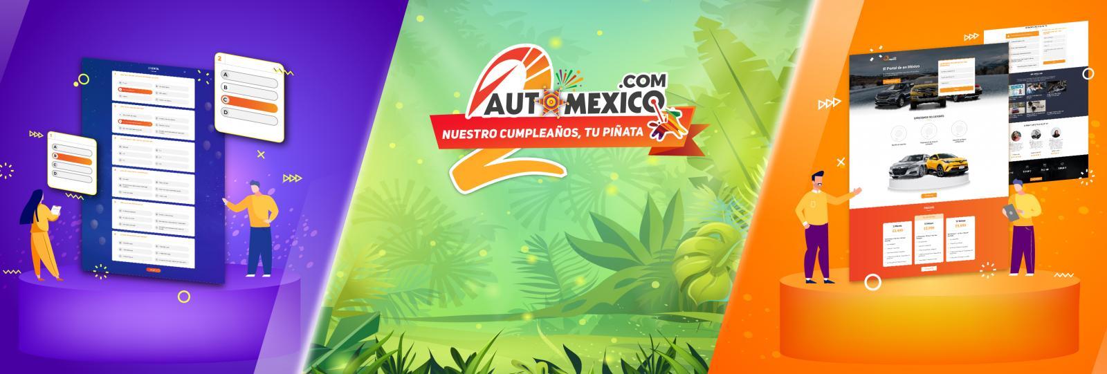 El nuevo look de Automexico.com en motivo del segundo aniversario
