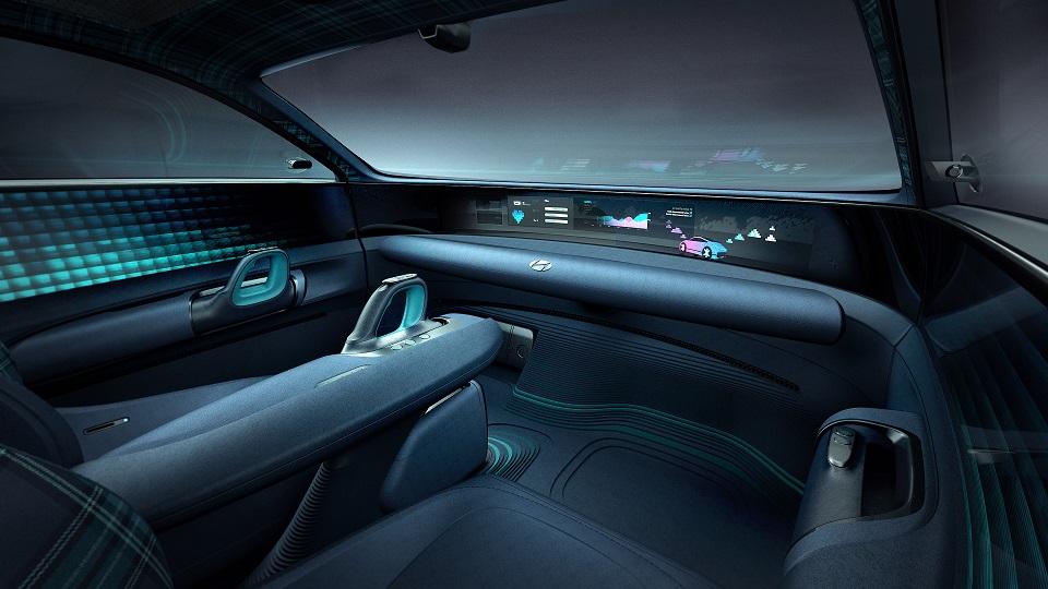Hyundai presentó el Prophecy Concept EV, un eléctrico muy elegante