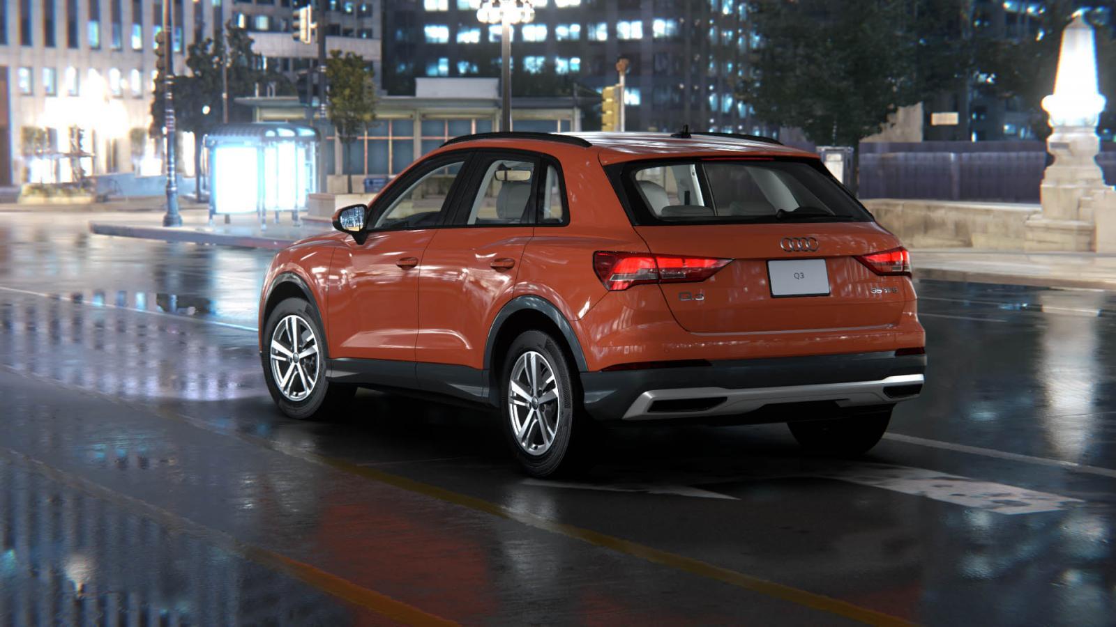 La Audi Q3 S Line tiene sensores de estacionamiento