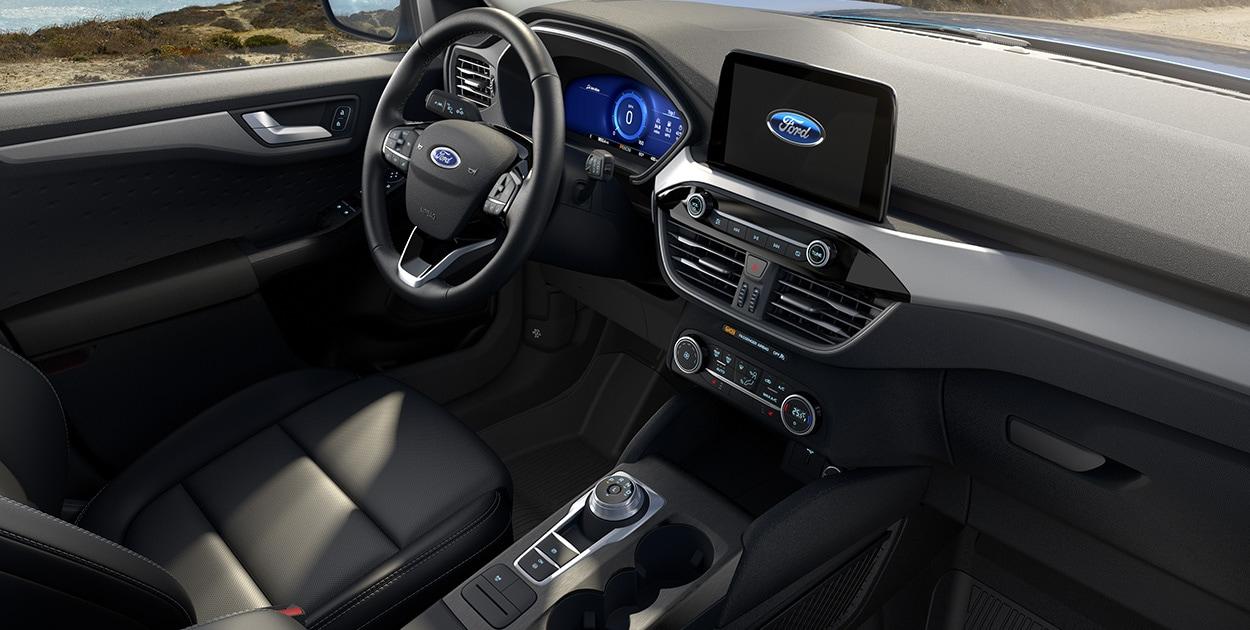 La SUV de Ford luce minimalista, pero funcional para el día a día