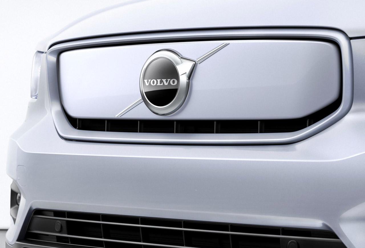 El frente de la Volvo XC40 Recharge iría a la C40