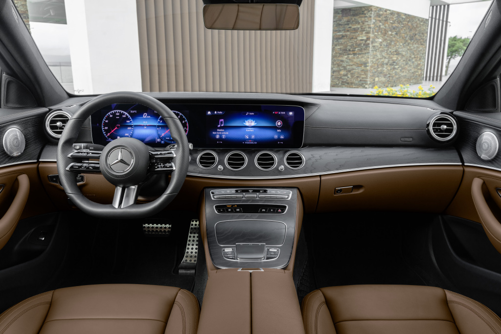 Mercedes-Benz Clase E interior