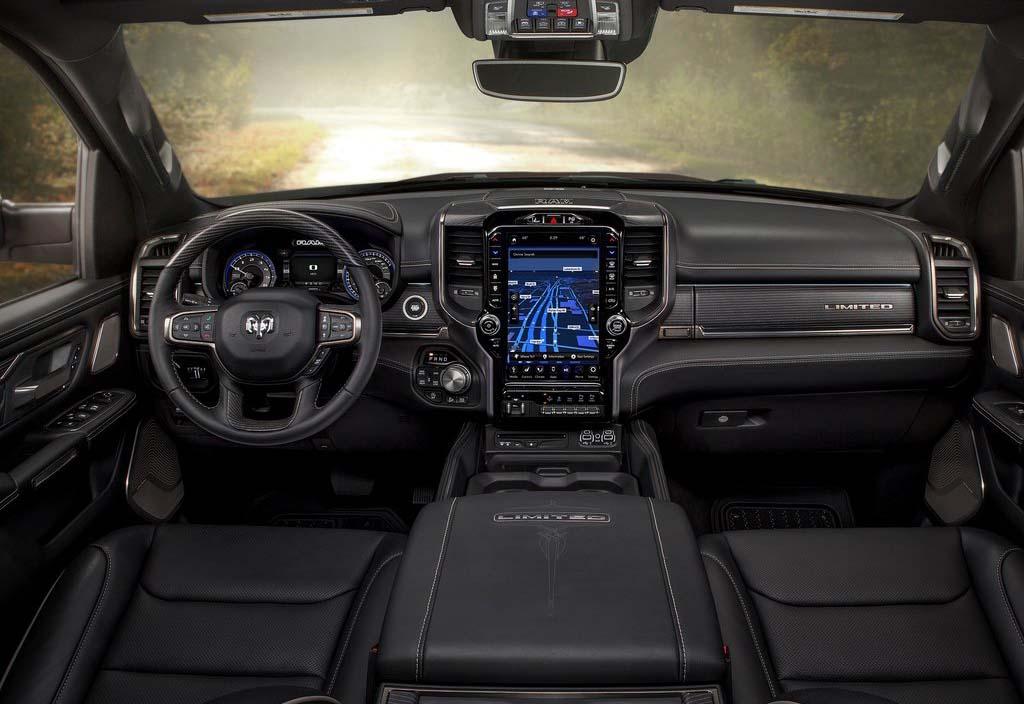 La Ram 1500 Mild-Hybrid Limited 2020 resena opiniones tiene mucha tecnología