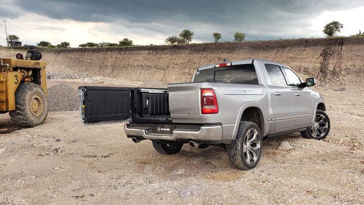 La Ram 1500 Mild-Hybrid Limited 2020 resena opiniones ofrece un manejo dinámico