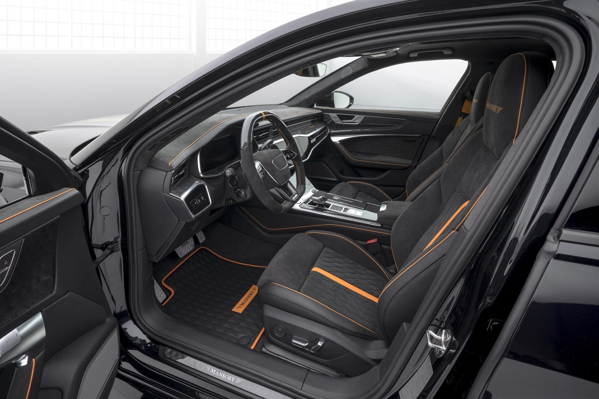 Audi RS6 Avant Mansory interior